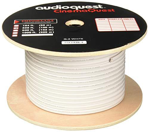 Audioquest Lautsprecherkabel G2 weiß, Meterware Audioquest Kabel Weiß
