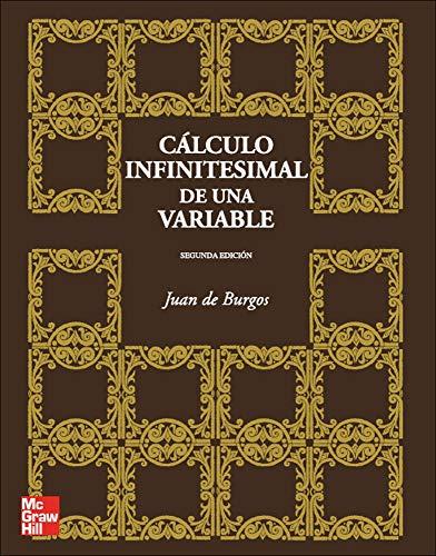 C@lculo infinitesimal de una variable, 2? Ed.