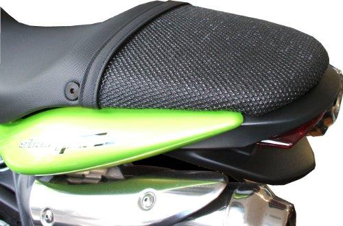 Triboseat Coprisella Passeggero Antiscivolo Nero Compatibile Con Triumph Street Triple (2007-2012)