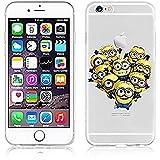 "Funda Minions iPhone 6/6s (4.7"") Carcasa Rigida de Dibujos Animados para Apple iPhone 6 6S"