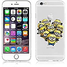 "Funda Minions iPhone 6/6s (4.7"") Carcasa Rigida de Dibujos Animados para Apple iPhone 6 6S"