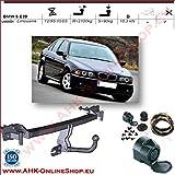 AHK Anhängerkupplung mit Elektrosatz 13 polig für BMW 5 E39 1995-2003 Anhängevorrichtung Hängevorrichtung - starr, mit angeschraubtem Kugelkopf