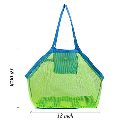 Beach Aufbewahrungstasche schürfbaggerbetrieb Werkzeug Portable Net Storage Bag Waren Collection Tragbare Aufbewahrung Netz Tasche (Collection Mesh Bag)