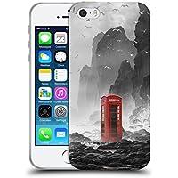 Ufficiale Daniel Conway Cabina telefonica Scene Surreali Cover Morbida In Gel Per Apple iPhone 5 / 5s / SE