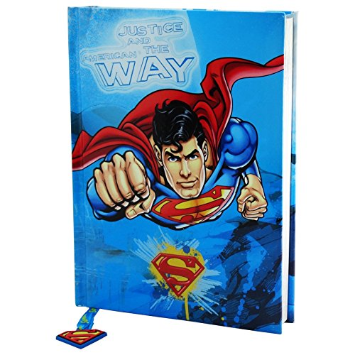 Dc Comics Superman Justice and The American Way Schülerplaner Tagebuch Agenda 10 Monate -