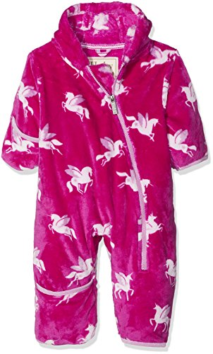 411007a54641 Hatley Baby Girls  Mini Fuzzy Fleece Bundlers Snowsuit - Babaloo