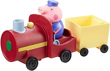 Peppa Pig Train and Carriage with Grandpa Pig Figure