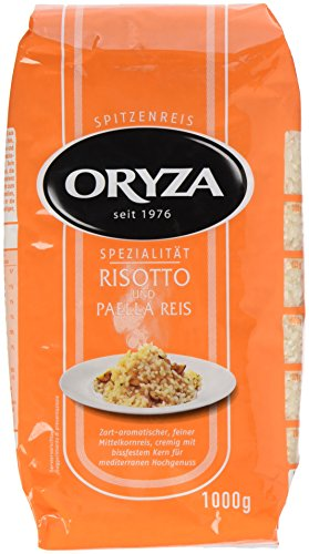 Oryza Risotto & Paella Reis, lose 1 kg, 2er Pack (2 x 1 kg)