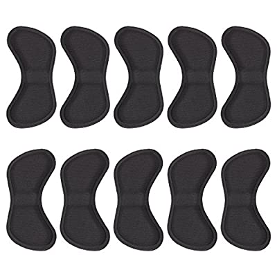 Hotop 5 Pairs Heel Grip Liner Self Adhesive Shoe Insoles Cushion Pads Stickers Foot Care Protector