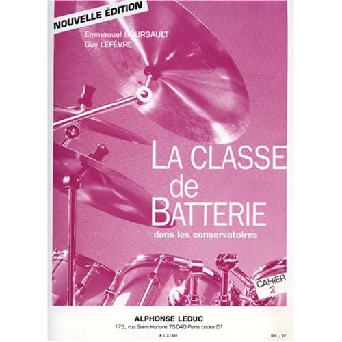 Classe de Batterie dans les Conservatoires - Volume 2