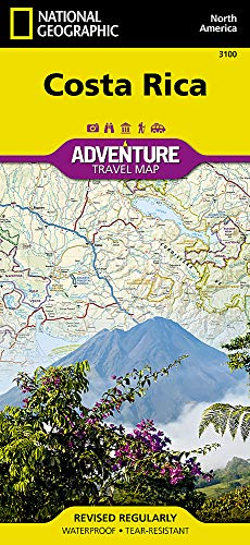 Gt-karte (Costa Rica: NG.AM3100 (National Geographic Adventure Map, Band 3100))