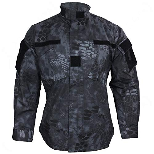 Mil-Tec US Field Jacket ACU/RS mandra Night - mandra Night, L -