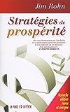 Telecharger Livres Strategies de prosperite Nouvelle edition revue et corrigee (PDF,EPUB,MOBI) gratuits en Francaise
