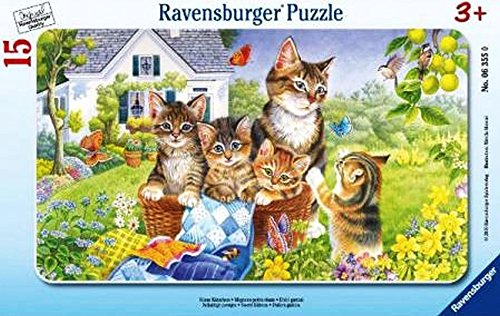 ravensburger-06355-gattini-puzzle-incorniciato-da-15-pezzi