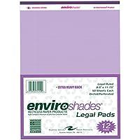 roaring Spring Paper Products 74140Enviroshades Legal Pads–Confezione da 6per case