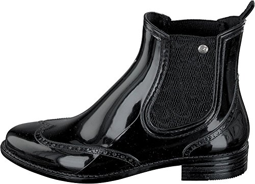 Gosch Shoes Sylt - Damen Chelsea Gummistiefel 7100-501 in 4 Farben Black