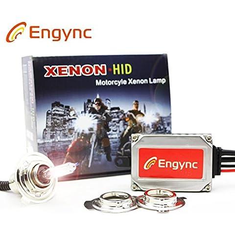 Engync® kit de actualización inalámbrica de la moto de xenón HID todo en uno H4 H6 P15D Hi / Low OEM de la luz blanca de color