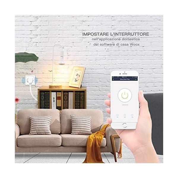 Woox-User-manual-Presa-Smart-Mini-Funziona-con-Amazon-Alexa-Google-Assistant-IFTTT-Nessun-Hub-Richiesto-24-GHz-WiFi-Bianco