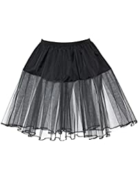 Full Circle Neon UV Underskirt 50's 60s Under Slip Rock n Roll Petticoat
