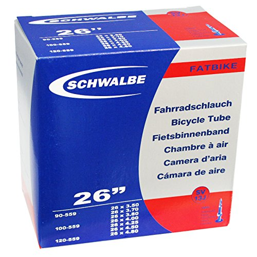 Schwalbe Camera 26 fat bike sv13j 40mm scatola