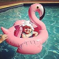 Casa jardín gigante Flamenco flotador flota en la piscina rápidos especiales para bebé de 0 a