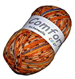H&W Comfort Sockenwolle F. 41700 Orange bunt  100g