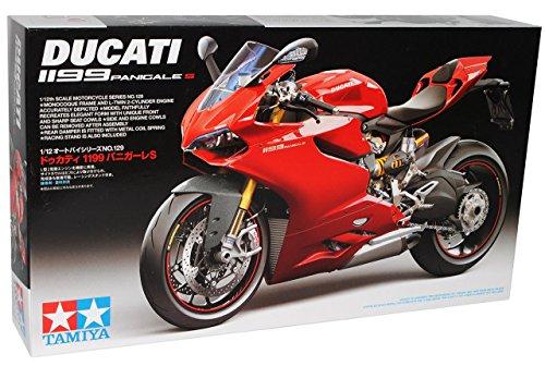 Ducati 1199 Panigale S Rot 14129 Kit Bausatz 1/12 Tamiya Modell Motorrad Modell Auto