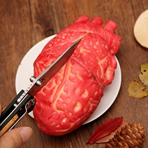 Halloween Bloody Simulation Heart Fake Organ Party Horror Decoration by Fake Body Parts by ETS