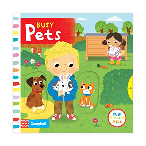 Busy Pets (Busy Books) por Louise Forshaw