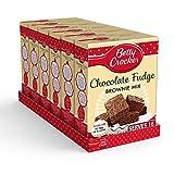 Betty Crocker Chocolate Fudge Brownie Cake Mix 415g (Pack of 6)