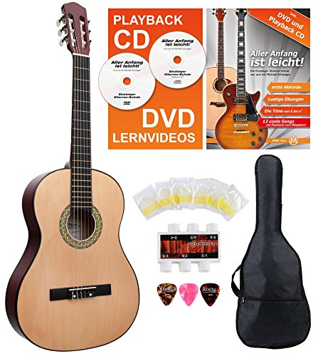 classic-cantabile-as-851-guitare-de-concert-4-4-kit-de-demarrage-kit-debutant-complet-avec-guitare-c