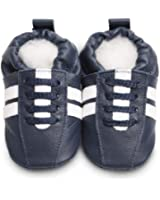 Hippy Chick Baby and Toddler Shoes - Navy/White Sport