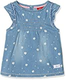 s.Oliver Baby-Mädchen Bluse 65.805.13.5228, Blau (Blue Denim Stretch 53z2), 86