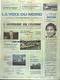 VOIX DU NORD (LA) [No 13195] du 06/12/1986 - ENSEIGNEMNET - LE GOUVERNEMENT JOUE L'APAISEMENT - LE RECTEUR DISCHAMPS PREND DES ENGAGEMENTS - LE SOMMET DE LONDRES POUR L'EUROPE - UNE REUNION DE REFLEXIONS - LES SPORTS - FOOT - LA VOILE COUPE DE L'AMERICA - FESTIVAL DU CINEMA SPORTITF DE LILLE - L'INCENDIE DE MAUBEUGE - UN ACTE CRIMINEL - APRES LES MENACES DE REGIS SCHLEICHER - LE PROCES D'ACTION DIRECTE