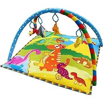 Baby Play Gym Play Mat Activity Mat Dinosaur Pattern