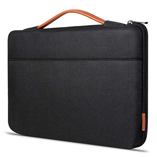 Inateck Stoßfestes Laptop Tasche Sleeve Hülle Spritzwasserfest für 15-15,6 Zoll Laptops, Notebooks