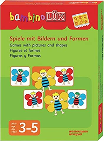 bambinoLÜK-Set: Spiele mit Bildern und Formen: 3 - 5 Jahre