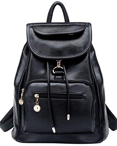 Coofit Cartable college femme sac à dos scolaire femme Sacs portés dos femme en cuir sac à dos randonnée femme