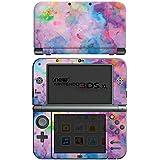 Nintendo New 3DS XL Case Skin Sticker aus Vinyl-Folie Aufkleber Malerei Bartik Tie Dye Farben