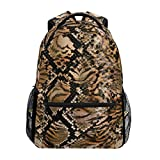 Jungle Leopard Schulrucksack für Kinder Mädchen Kinder Reisetasche Bookbag