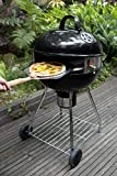 PIZZACRAFT Kit Pizza per Barbecue a Carbone