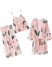 Mmllse Pyjamas De Femmes Enceintes en Coton Mince D Été Printemps Automne  Vêtements À La bdd4023fce3