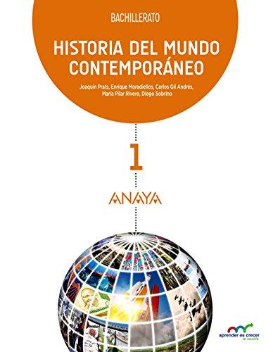 Historia del Mundo Contemporáneo. (Aprender es crecer en conexión) - 9788467827248 por Joaquim Prats Cuevas