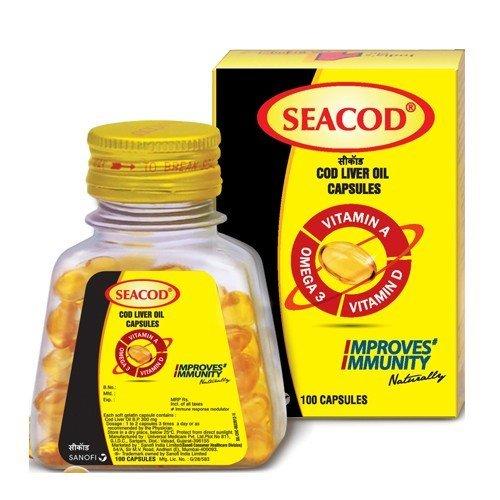 SeaCod cod Liver Oil 200 capsules