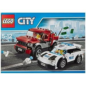 LEGO city Police Inseguimento della Polizia, Multicolore, 60128 5702015594899 LEGO