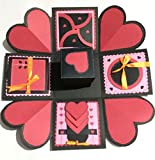 #5: JN-STORE Romantic Explosion Box for Valentine black theme