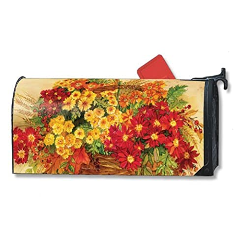 MailWraps Glorious Mums Mailbox Cover 07921 by