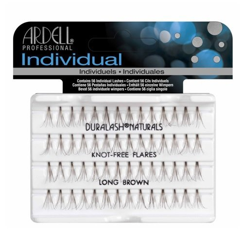 Ardell Individual Lashes Naturals - Knot Free - Long Brown