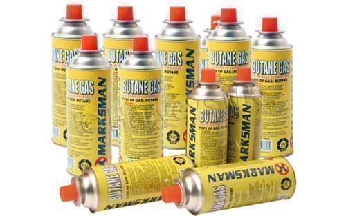 Marksman 28 Butane Gas Bottles CANISTERS for Cooker Heater BBQ 1