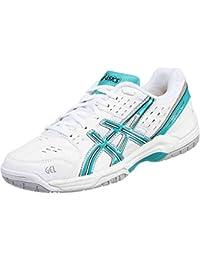Asics - Zapatillas de tenis de Material Sintético para mujer blanco blanco